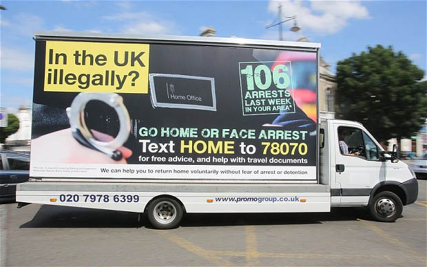 Advertising watchdog probes Home Office 'Go Home' illegal immigrant campaign