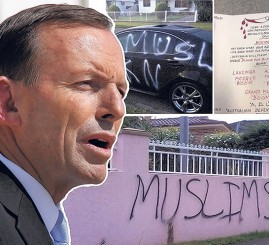 Australia's PM urged to speak out against attacks on Muslims