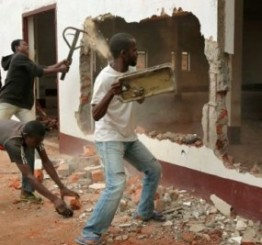 CAR: Almost all mosques destroyed by Christians