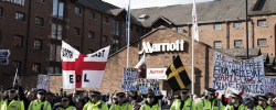 15 arrested in Manchester as EDL members fight each other