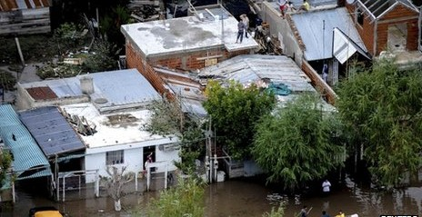 Argentina: Floods kill 46 in Buenos Aires province