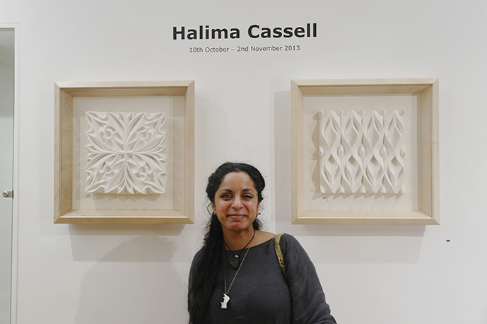 Halima Cassels sculpture awe-inspiring