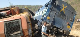 India: Double train accident kills 27 in Madhya Pradesh