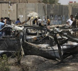 Iraq: Two car bombs kill 10 people in two Baghdad hotels