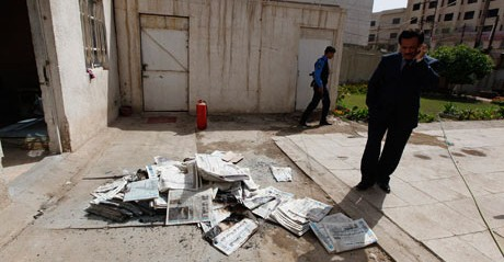 Iraq: Gunmen attack offices of four Iraqi newspapers