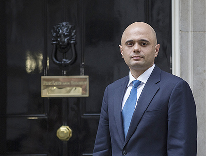 Javid becomes first Muslim Secretary of State