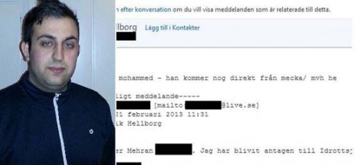 Lecturer suspended in Sweden over Islamophobic email