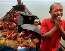 US pledges aid for countries housing stranded Rohingya