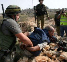 Palestine: One journalist kidnapped by Israel, 6 injured