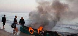 Palestine: Israeli navy sinks Palestinian fishing boat in Gaza