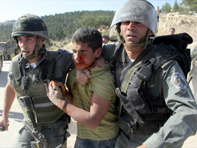 Palestine: Child, young man, kidnapped by Israeli soldiers in Jerusalem