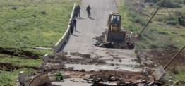 Palestine: Israeli forces destroy 1,000 Meter water pipe donated to Yezra