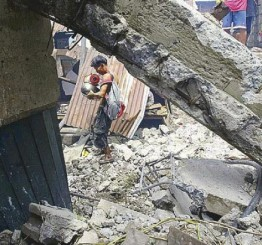 Philippines: 11 killed, 4 injured in N Philippines wall collapse
