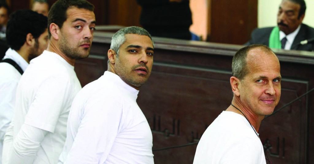 Sentencing of Al-Jazeera's journalists prompts international outrage