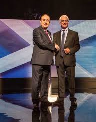 UK: Leaders face off over independence in final Scotland debate
