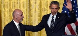 Obama backs Ghani's leadership, agrees to slower withdrawal from Afghanistan