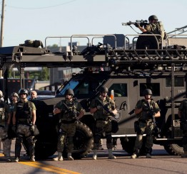 US: Two police officers shot in Ferguson