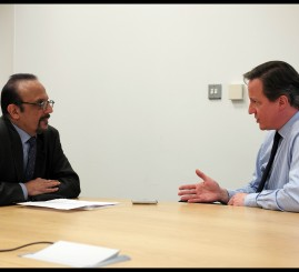 Muslims should not be viewed through prism of security, says Cameron in an exclusive interview