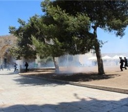 Palestine: Israeli troops attack Friday prayers at al-Aqsa Mosque in Jerusalem, wounding 110