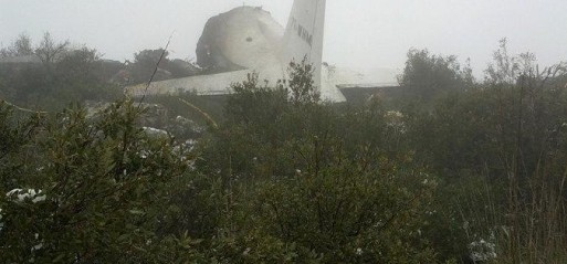 Algeria: 76 killed in military plane crash in eastern Algeria