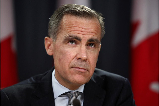 bank of England Governor Makr Carney