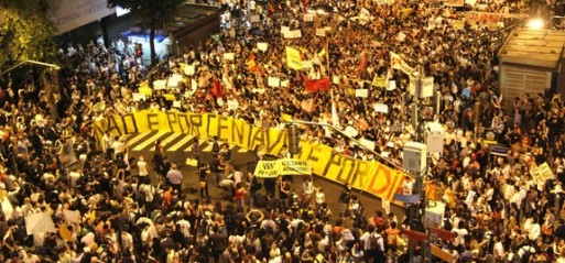 Brazil: One million protest against World Cup costs in Brazil