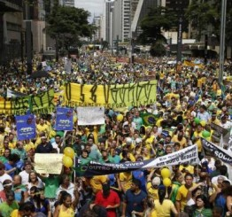 Brazil: More than a million rally against the president
