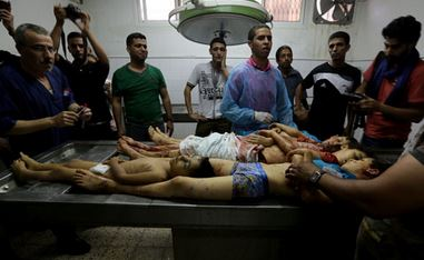 Palestine: Five Palestinians incl 3 children killed in Israeli airstrike on Gaza home