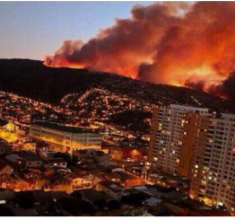 Chile fire threatens coastal cities, state of emergency declared