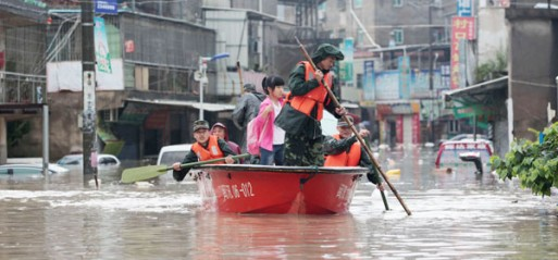 China: 55 dead, 14 missing in S China storms