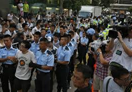 China: HK police arrest 45 protesters