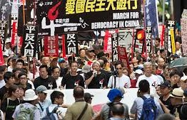 China: Hong Kong protest groups welcome talks, Beijing claims cause 'doomed'