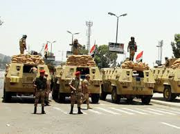 "Egyptian army kills 21 ""terrorists"": army spokesman"