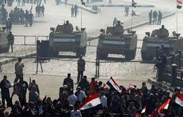 Egypt security forces clash with protesters, killing two