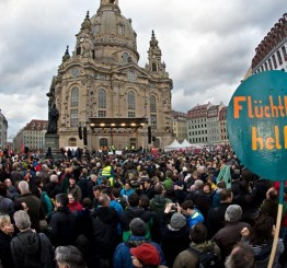 Germany: Dresden marchers to conquer xenophobia