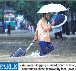 India: Heavy rains lash Mumbai, several schools ask students to stay at home