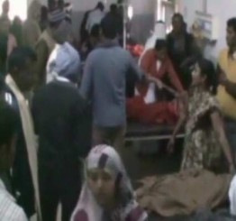 India: Five children killed, 25 injured as train hits school bus in UP