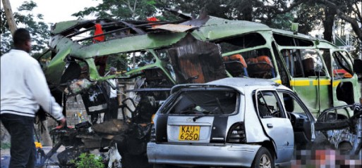 Kenya: Six killed, 30 injured in Nairobi bus blast