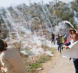 Palestine: Israeli soldiers attack Bil'in weekly nonviolent protest