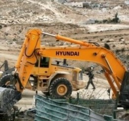 Palestine: Five Palestinian homes, structures, demolished by Israeli forces near Hebron