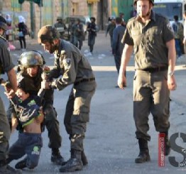 Palestine: VIDEO: Seven-year-old violently detained, one child, two adults arrested by Israeli forces
