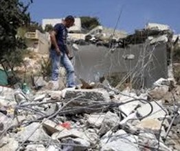 Palestine: Israeli army demolishes home near Tulkarem