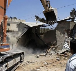 Palestine: Israeli army demolishes home, 4 residential sheds