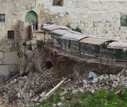 "Palestine: Israeli ""archaeological"" excavations cause serious damage at Al Aqsa"