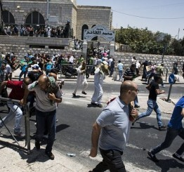 Palestine: Israeli police attack mourners after Palestinian teenager's funeral