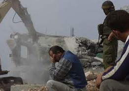 Palestine: Israeli army demolishes home, residential sheds in Tubas