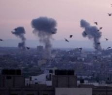 Palestine: Israeli Air Force bombs Gaza