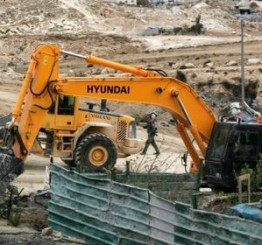 Palestine: Israeli army demolishes residential structures, sheds, near Jerusalem
