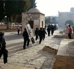 Palestine: Israeli soldiers assault, kidnap, Palestinian woman in Al-Aqsa Mosque