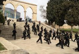 Palestine: Israeli forces storm Aqsa Mosque compound, injuring six